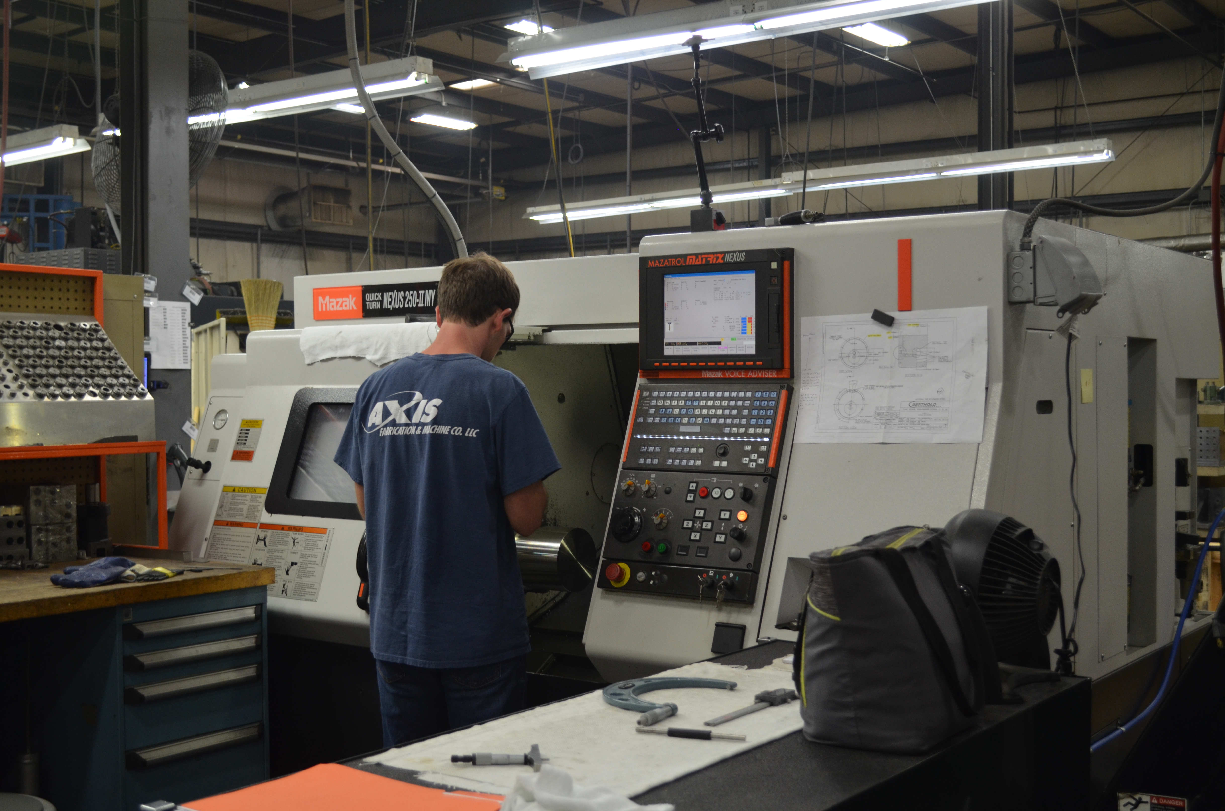Mazak Manufacturing Equipment – Axis Fabrication – Tips of